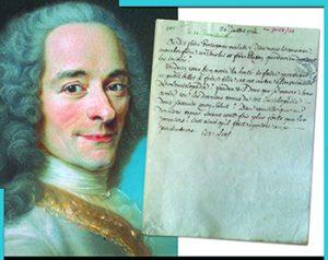 Nicholas CRONK, Université d'Oxford  « La correspondance de Voltaire : questions sur les manuscrits »