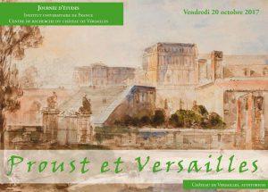 Journée d'études « Proust et Versailles »