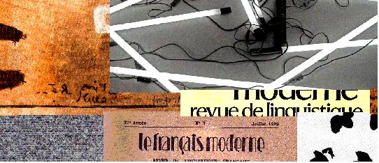 Tendances actuelles de la linguistique française