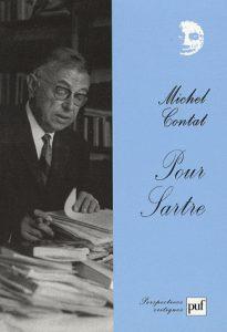 Pour Sartre. Michel Contat