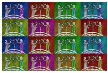 Variance, Variantes, Variations II