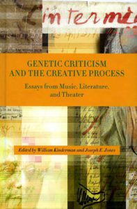 Genetic criticism and the creative process. Essays from Music, Literature and Theater