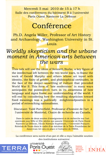Worldly skepticism and the urbane moment in American arts between the wars