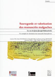Série «Formation», Sauvegarde et valorisation des manuscrits malgaches