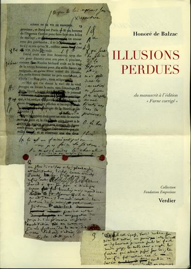 Illusions perdues. «Les deux poètes». Du manuscrit à l'édition «Furne corrigé».