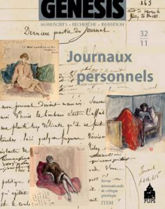 Genesis 32 : «Journaux personnels»