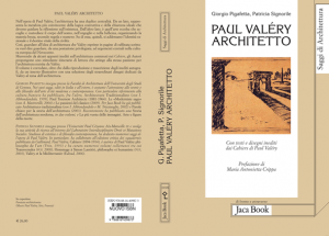 Giorgio Pigafetta et Patricia Signorile : Paul Valéry architetto