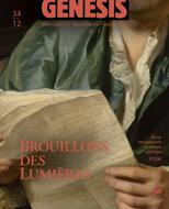 «Brouillon des lumières». Textes réunis et présentés par Nathalie Ferrand