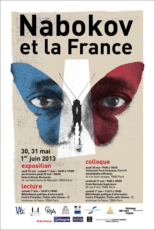 Colloque International : « Vladimir Nabokov et la France »