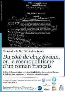 «Du côté de chez Swann», ou le cosmopolitisme  d'un roman français