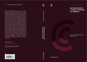 Maurice Merleau-Ponty : Recherches sur l'usage littéraire du langage
