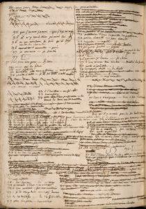 Journée d'études : «Nouvelles perspectives sur les manuscrits des Lumières»