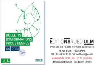 «Bulletin d'informations proustiennes» n° 44, 2014