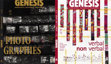 Louis Hay, Aurèle Crasson et Monique Sicard « Présentation des numéros 37 et 40 de la revue «Genesis»