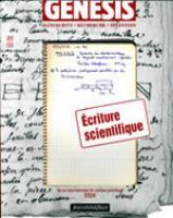 Genesis 20 – Écriture scientifique