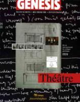 Genesis 26 – Théâtre