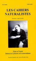 Les Cahiers naturalistes n°89