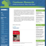 Continents manuscrits 9/2017