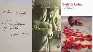 Groupe Violette Leduc (Mireille Brioude, Anaïs Frantz, Alison Péron, Olivier Wagner) : Etudes génétiques autour de L'Affamée, Ravages et La Folie en tête