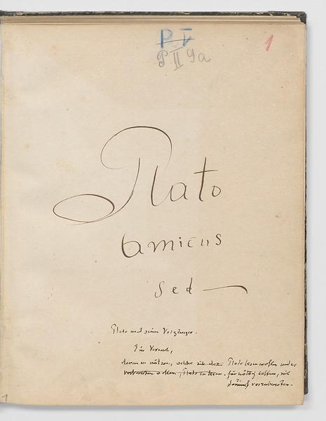 Anne Merker, Plato amicus sed –