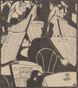 Proust et la presse