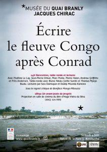 Écrire le fleuve Congo après Conrad, 9 juin 2018