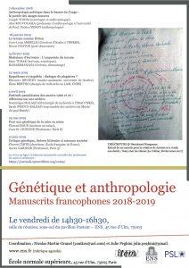Génétique et anthropologie (5). Festivals panafricains des années 1960 et 70 : réflexions sur une archive