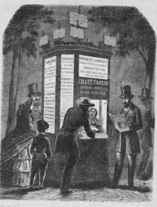 Zola à l'étalage : le kiosque à journaux au carrefour de l'indiscipline (Marion Glaumaud-Carbonnier, Equipe Zola)