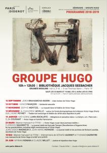 Séminaire Autobiographie et Correspondances | Groupe Hugo : «Victor Hugo vu par deux journaux inédits» (avec Florence Naugrette, Jean-Didier Wagneur et Jean-Marc Hovasse)
