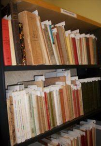 Manuscrits francophones : «L'écrivain et sa bibliothèque» / 2019-2020
