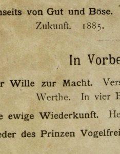 Le œuvres de Nietzsche, séminaire 2019-2020