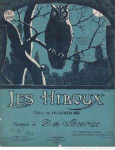 François Le Roux (École normale Alfred Cortot), « Baudelaire et les compositeurs de mélodie »,