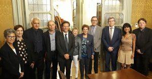 Signature d'une accord de coopération entre la fondation Giovanni Verga et le Centre Zola