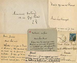 Jean-Marc Hovasse (Univ. Paris-Sorbonne / ITEM) invite Bertrand Marchal (Univ. Paris-Sorbonne) : «Mallarmé, correspondance et genèse»