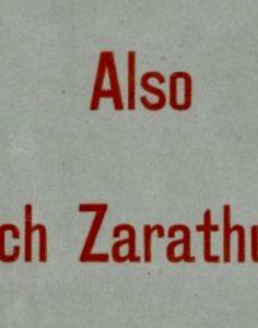Le Zarathoustra de Nietzsche. Traduction, commentaire, interprétation