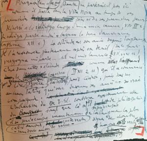 Elsa Marguin-Hamon (ENC), Les archives d'André Pézard sur Dante