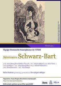 Séminaire Schwarz-Bart / 2021-2022