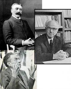 Aux sources du mouvement structuraliste.  Parcours génétiques à travers les brouillons de Saussure, Benveniste et Jakobson.